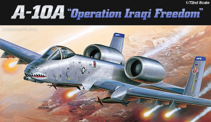 Náhľad produktu - 1:72 A-10A ″Operation Iraqi Freedom″