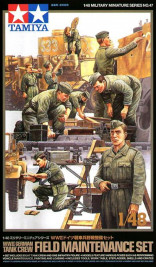 1:48 German Tank Crew Field Maintenance Set (WWII)