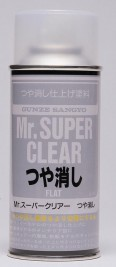 Náhľad produktu - Mr. Super Clear Flat - lak matný 170ml