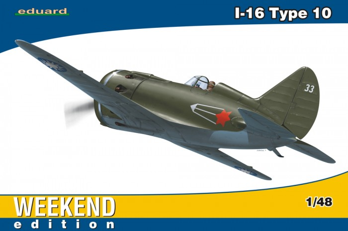 Náhľad produktu - 1:48 I-16 type 10 (WEEKEND edition)