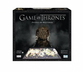 4D CITY PUZZLE HRA O TRŮNY (GAME OF THRONES)