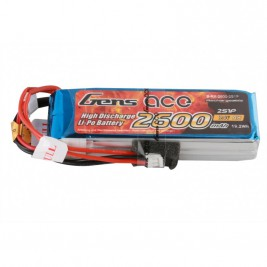 GENS ACE LIPO - RX 2S 2600 mAh Transmitter pack