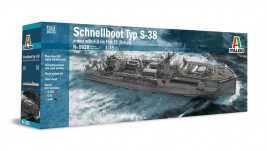 1:35 Schnellboot S-38 Armed with 4.0cm Flak 28 (Bofors)