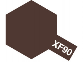 TAMIYA COLOR ACRYLIC XF-90 RED BROWN