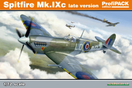 1:72 Supermarine Spitfire MK.IXc, Late Version (ProfiPACK edition)