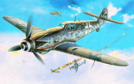 1:72 Messerschmitt Bf 109 G-10 Erla, Block 49 (Early)