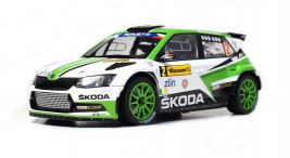 1:18 Škoda Fabia R5, No. 2, Winner Barum Rally Zlín 2017