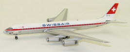 1:200 Douglas DC-8-62, Swissair, 1970s Colors, Named Solothurn
