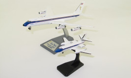 1:200 Convair CV-880 Named & Lockheed L-1329 Jet Star, Elvis Presley Set