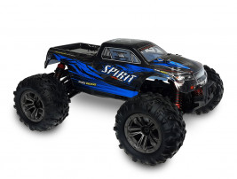 1:16 RC auto Spirit Monster Truck 4WD 2.4GHz RTR (modrá)