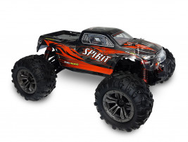 1:16 RC auto Spirit Monster Truck 4WD 2.4GHz RTR (červená)