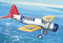 "1:72 Vought OS2U Kingfisher ""Wheeled Version"""