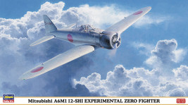 1:48 Mitsubishi A6M1 12-SHI Experimental Zero Fighter