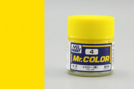 Farba Mr. Color akrylová č. 004 – Yellow (10 ml)