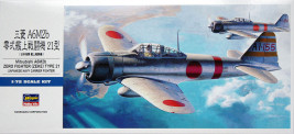 1:72 Mitsubishi A6M2 Zero Fighter Model 21 (Zeke)