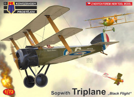 "1:72 Sopwith Triplane ""Black Flight"""