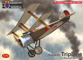 "1:72 Sopwith Triplane ""Russian"""
