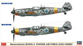 1:72 Messerschmitt Bf 109 G-6, Finnish Air Force Aces Combo (Limited Edition)