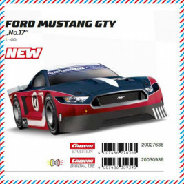 1:32 Carrera Evolution – Ford Mustang GTY, No.17