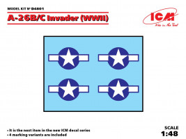 1:48 Decal for Douglas A-26B/C Invader (WWII)