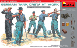 1:35 German Tank Crew at Work (Special Edition)