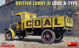 1:35 British Lorry 3t LGOC B-Type